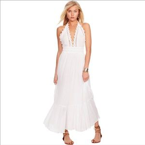 Ralph Lauren Denim & Supply White Maxi Dress